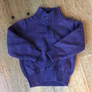 Janie and Jack Size 2 Dark Purple Sweater